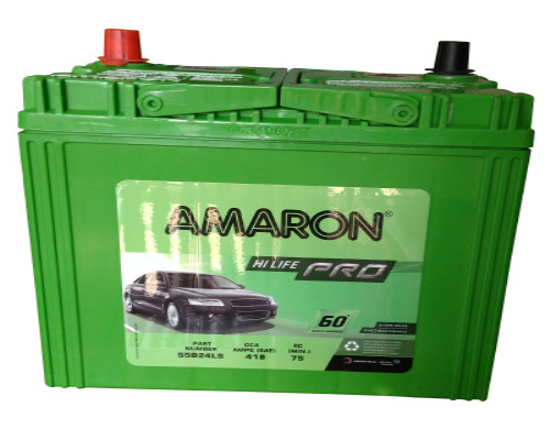 Car Battery Price: Amaron PRO 55B24LS Car Battery Online At Best Price In
