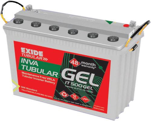 Exide Inva Tubular IT500 Battery