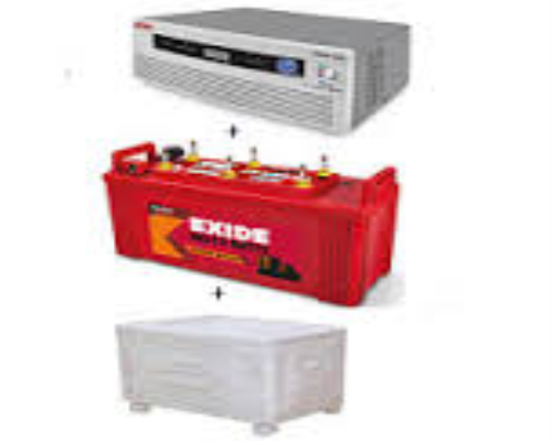 Exide 850 va Home UPS and Exide Insta Brite IB1500+ cabinet trolley