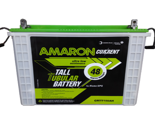 Amaron Current  CRTT150 Tall Tubular 150AH Inverter Battery